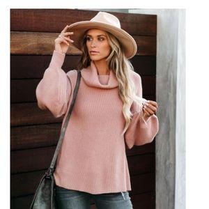 DOROTA Knit Turtleneck Sweater